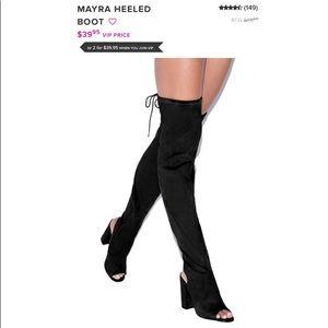 Mayra heeled boot